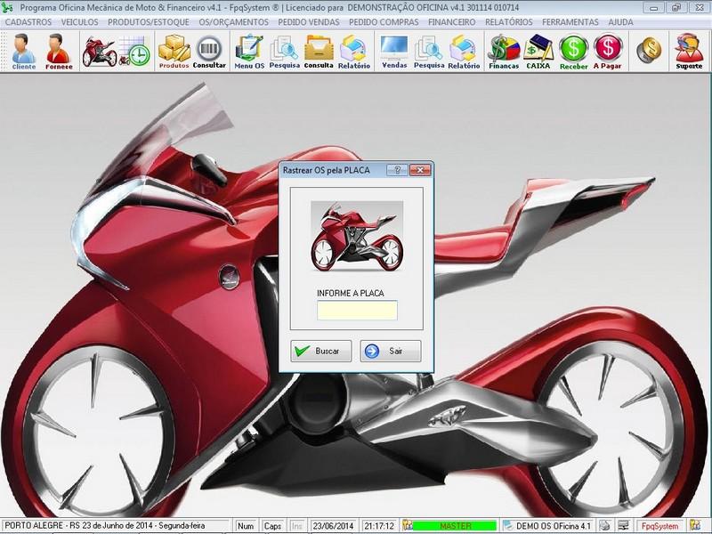 Programa para oficina mec nica de moto com ordem de for Programa para disenar oficinas