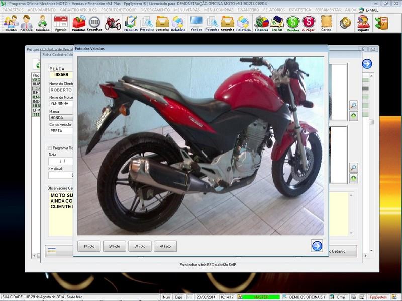 Imagens do Programa
